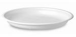 Тарелка белая, б/секционная 205-220 мм