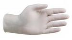 Перчатки виниловые без посыпки.